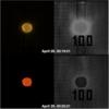 EUI 174, not filtered and filtered - EUI 304, not filtered and filtered